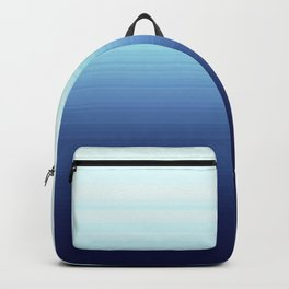 Nautical Blue Ombre Backpack