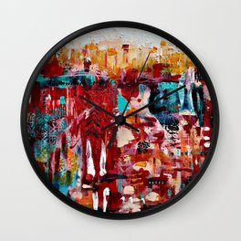 Andalusia: Original Art by Ulyth Wall Clock