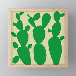 cactus Framed Mini Art Print