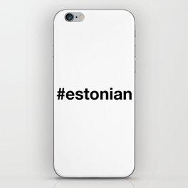 ESTONIA iPhone Skin