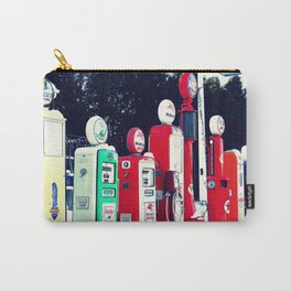 Vintage Gas Station Carry-All Pouch