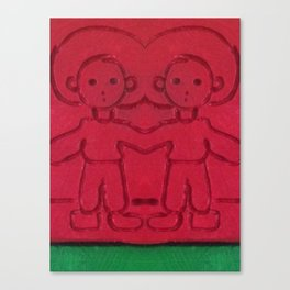 Red Two Canvas Print