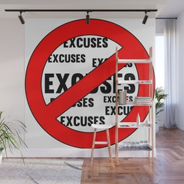 Fitness & Bodybuilding Motivation Quote Wall Mural