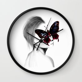 colors of change Wall Clock