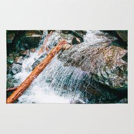 Creek bed in Squamish, Canada Rug