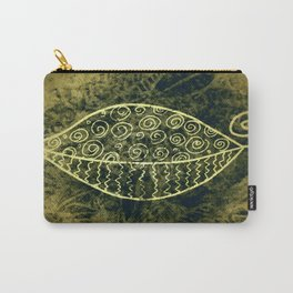 ReLeaf Doodle Gold Carry-All Pouch