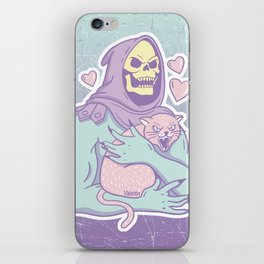 Skeletor's Cat iPhone Skin