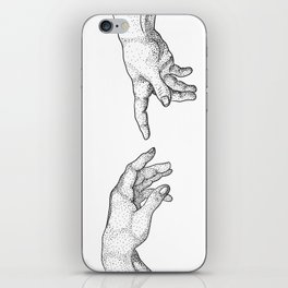 Creation of Adam iPhone Skin