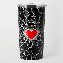 Heartbreaker III Black Travel Mug