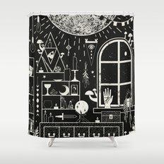 Moon Altar Shower Curtain