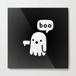 ghost of disapproval Metal Print