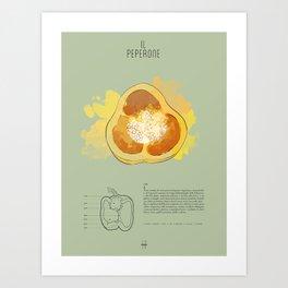 IL PEPERONE Art Print