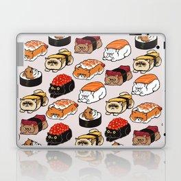 Sushi Persian Cat Laptop & iPad Skin
