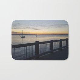 Sunset On the Bay Bath Mat