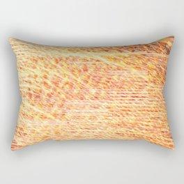 digital sunset Rectangular Pillow