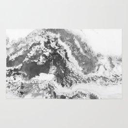Marble Mountain Black and White II Rug