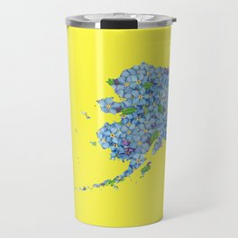 Alaska in Flowers Travel Mug