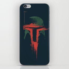 Boba Fett Art - StarWars Fan Painting iPhone Skin