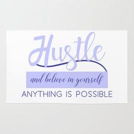 Hustle in Light Blue Rug