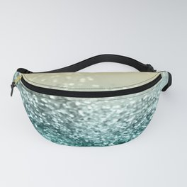 Lemon Twist Beach Glitter #2 #shiny #decor #art #society6 Fanny Pack