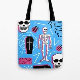 Halloween- Memphis style Tote Bag