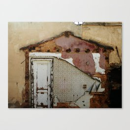 Unidimensional house Canvas Print
