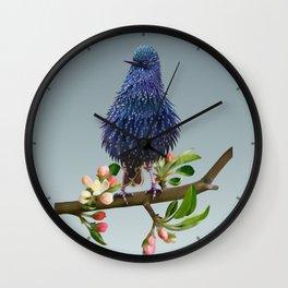 Proud Bird Wall Clock