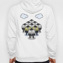 TWO GATHER WITH CLOUDS Hoody
