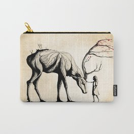 Knowing the Deer Tree Carry-All Pouch