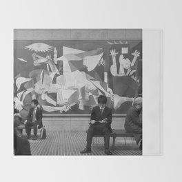 Guernica in Tokyo Throw Blanket