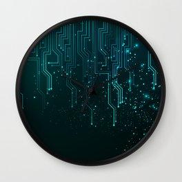 Aqua Tech Wall Clock