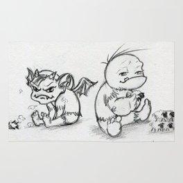 Troll and Gremlin Rug