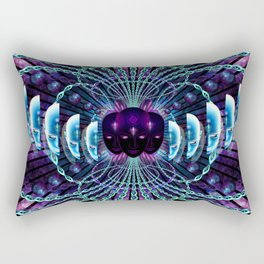 In Dreams unfolds the universe Rectangular Pillow