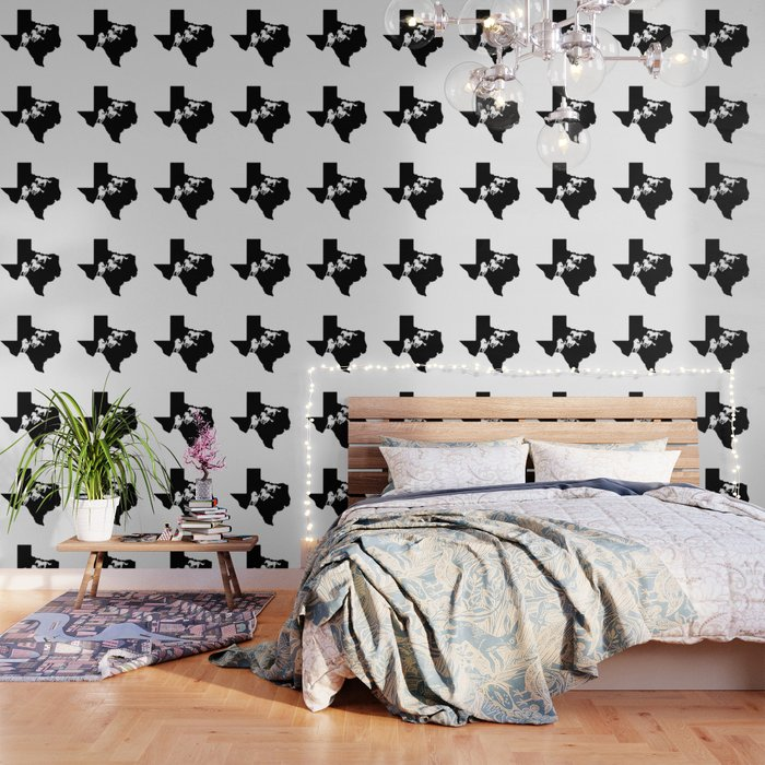 Texas American Quarter Horse Lover Black Wallpaper By