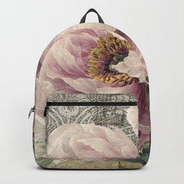 Paris Peony Backpack
