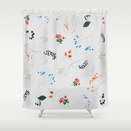Berries & Such - Light Shower Curtain