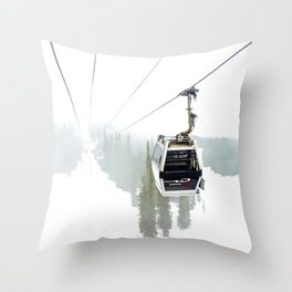 Whistler Blackcomb Throw Pillow