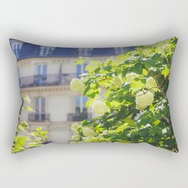 Promenade Plantée Rectangular Pillow