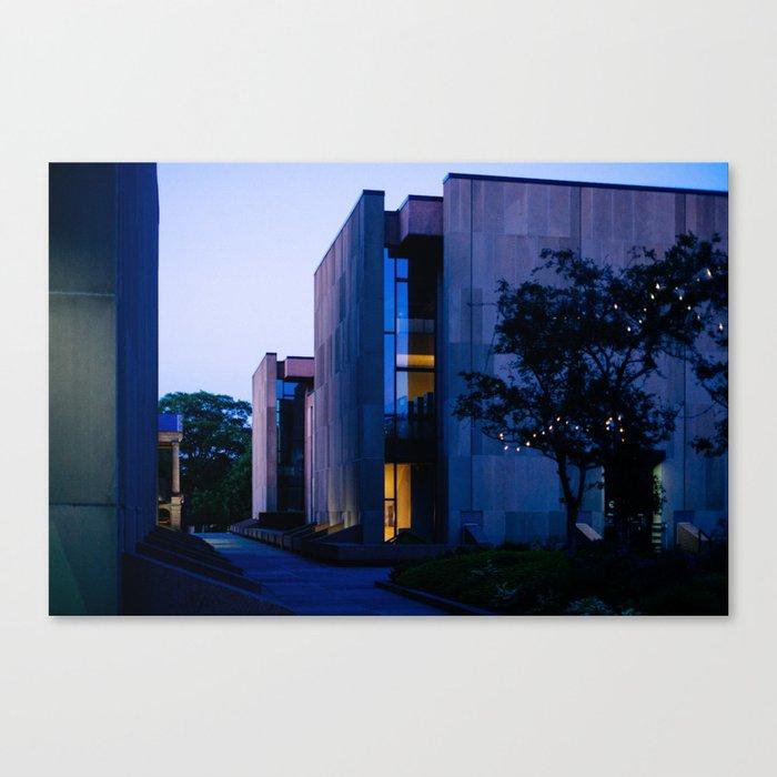 Confederation Centre of the Arts at Dusk Canvas Print