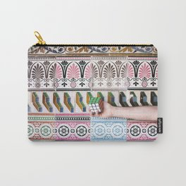 Cube against the tiles Carry-All Pouch