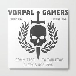 Vorpal Gamers Metal Print