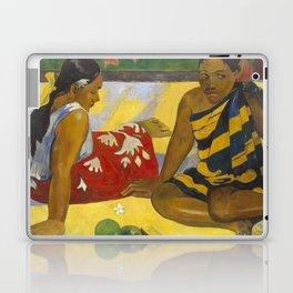 Parau Api / What's news? by Paul Gauguin Laptop & iPad Skin