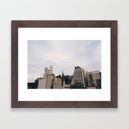 Minneapolis Architecture - Mill City Framed Art Print