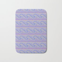 Wavy Wave Bath Mat