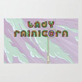 Lady Rainicorn Rug
