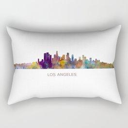 Los Angeles City Skyline HQ v1 Rectangular Pillow