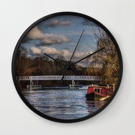 Below The Weir at Pangbourne Wall Clock