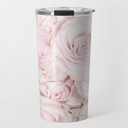 Roses have thorns - Floral Flower Pink Rose Flowers Travel Mug