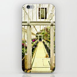 Life in  a glass house iPhone Skin
