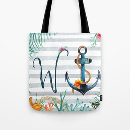 W-Anchor Tote Bag